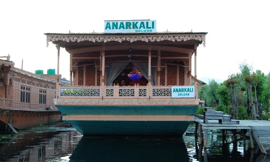 Charter Anarkali Houseboat At Dal Lake In Srinagar, Kashmir