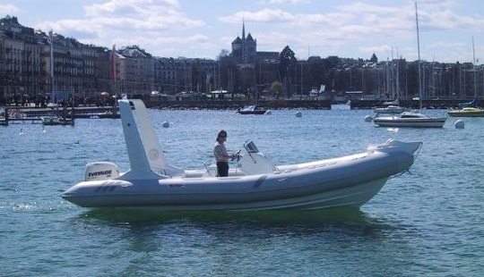 Rent The 26' Semirigid Inflatable (2017) - Tarpon 790 Lx +200 Hp H.o. Evinrude G2, In Platja D'aro, (costa Brava - Spain)