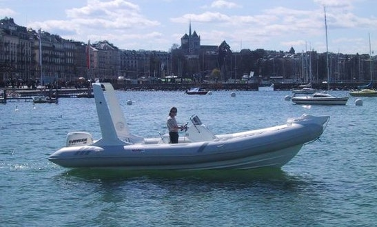 Rent The 26' Semirigid Inflatable (2017) - Tarpon 790 Lx +200 Hp H.o. Evinrude G2, In Platja D'aro, (costa Brava - Spain)