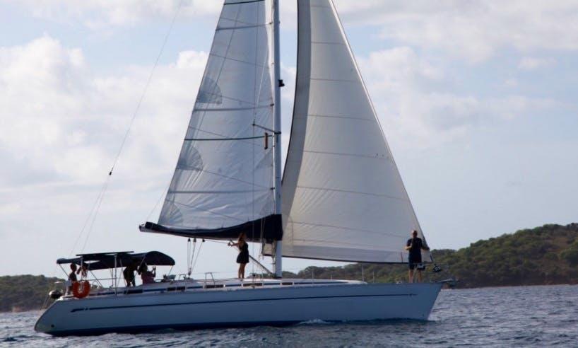"Private Sailing Tours in Virgin Islands On 44ft ""Ocean Spirit"" Sailboat"