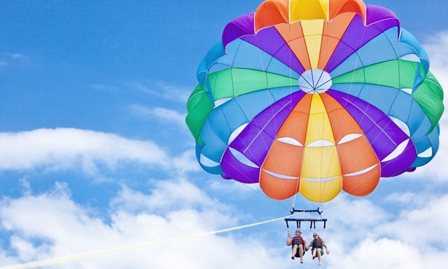 The Best Parasailing Charter for 6 Person in Destin, Florida