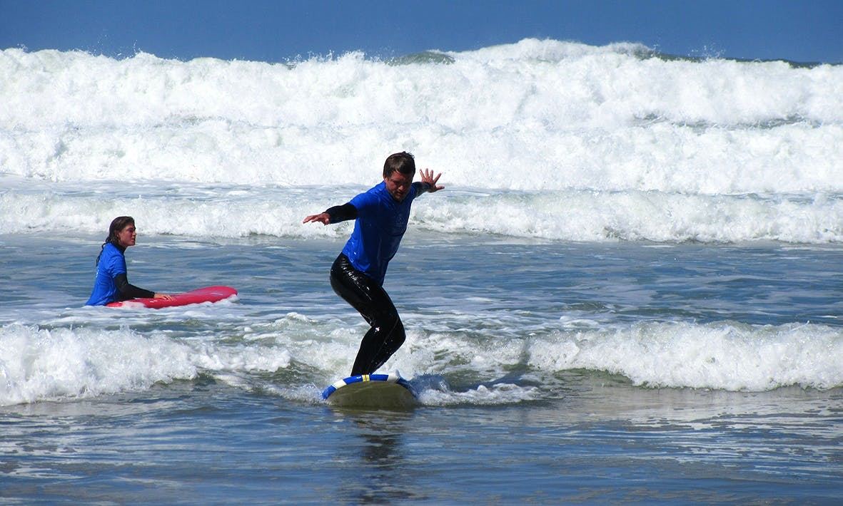 Surf Guide/ Surf Lesson on Guincho Beach in Cascais, Portugal