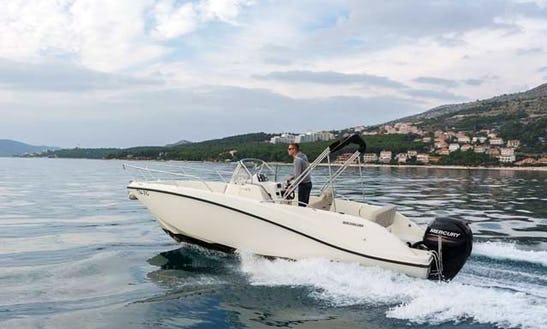Hire The Quicksilver 675 Activ Open For 8 People In Trogir, Croatia