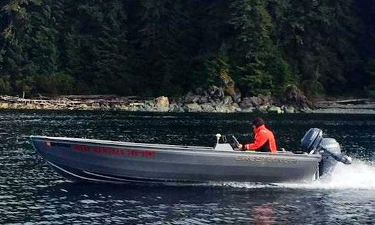 18' Crestliner Powerboat Rental In Juneau