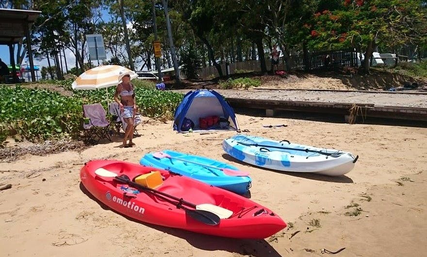 Single Kayak Hire in Hervey Bay, Queensland
