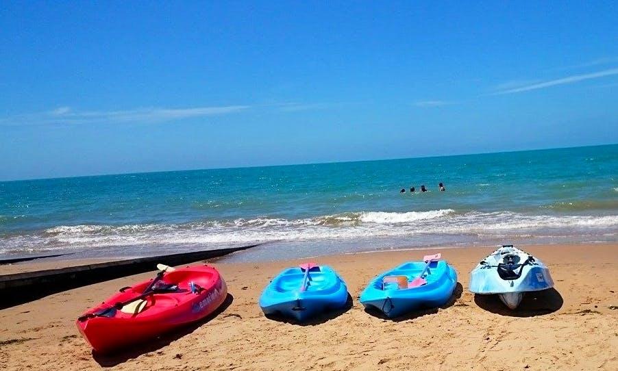 Hire Kids Kayak in Hervey Bay, Queensland