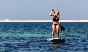 Stand Up Paddleboarding In Dubai, United Arab Emirates