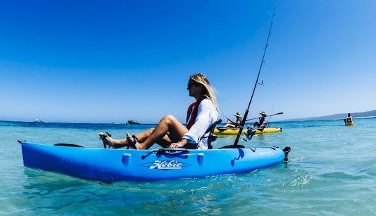 Guided Kayak Fishing & Snorkelling Tours - Ningaloo Reef
