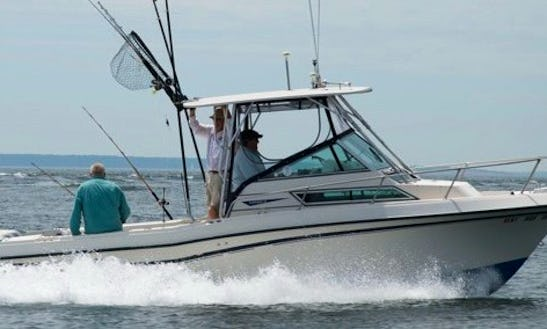 23' Cuddy Cabin Charter In Southold, New York