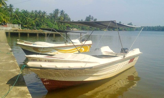 Charter A Dinghy In Ambalangoda, Southern Province