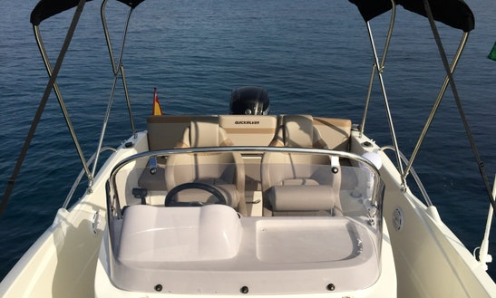Quicksilver 605 For Rent In Alicante