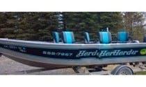 20ft Custom Fish Rite Power Boat Charter in Soldotna, Alaska