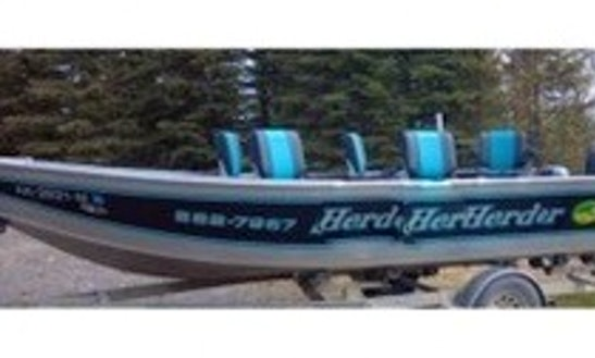 20ft Custom Fish Rite Power Boat Charter In Soldotna, Alaska