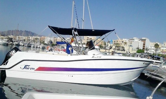 Rent The 27ft Shiren Power Boat In Garrucha, Andalucia
