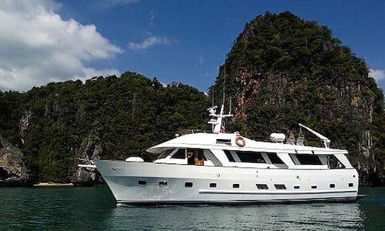 Charter The 60' Power Mega Yacht In Tambon Chalong, Phuket