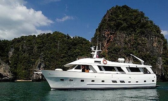 Charter The 60' Power Mega Yacht In Tambon Chalong, Phuket