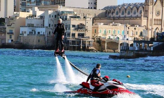 Enjoy Flyboarding Rentals And Courses In Saint Julian's, Malta