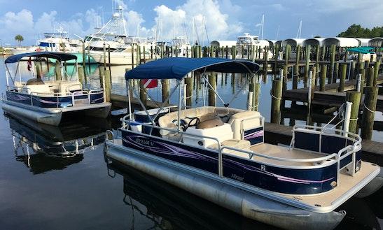 22' Pontoon Charter In Port Saint Joe, Florida