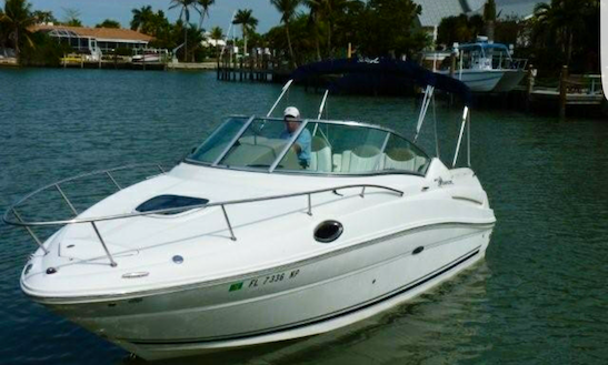 26ft Sea Ray Sundance Yacht Rental In Miami Beach, Florida