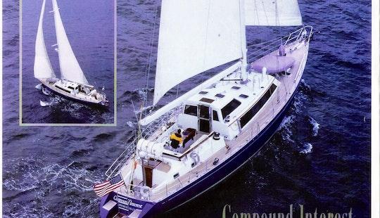 78' Luxury Mega Sailing Yacht Ready For Charter To San Juan, Puerto Rico
