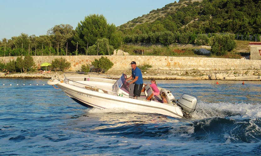 Rent 16' Fisherman Tiburon 180 Open in Vinisce, Croatia