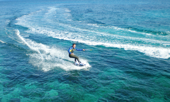 Enjoy Wakeboarding At Hondoq Bay, Malta