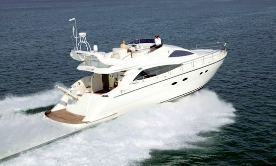 Charter The Aicon 56 Power Mega Yacht In Taormina, Sicilia