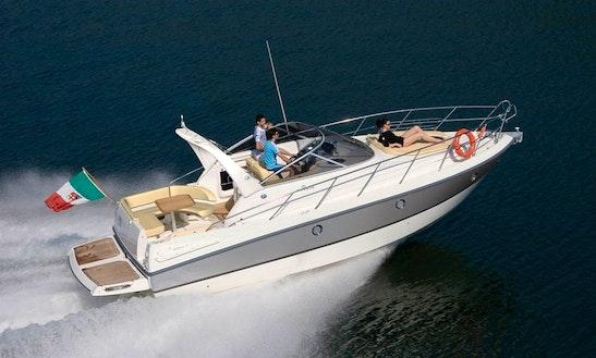 Charter This Cranchi Zaffiro 32 Motor Yacht In Riposto, Italy