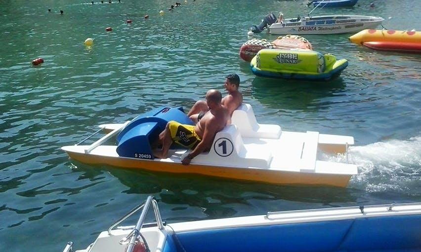 Enjoy Saint Julian's, Malta on Pedal Boat