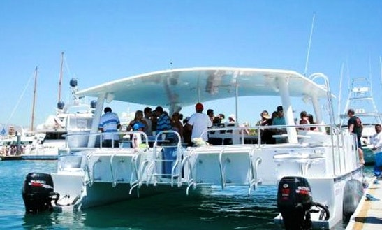 Enjoy Boat Party On Power Catamaran In Cabo San Lucas, Mexico