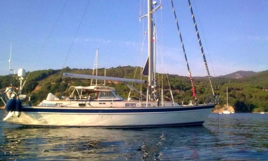 Charter The Hallberg Rassy 53 Sailboat In Palma, Spain
