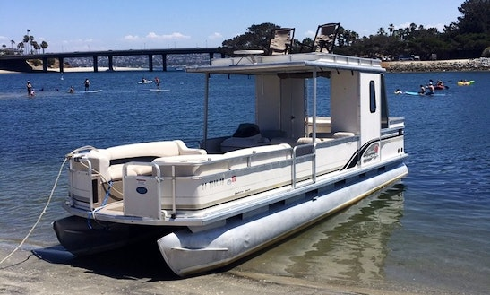Rent The 30' Double Decker Pontoon Boat In San Diego, California