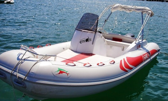 Rent 16' Rigid Inflatable Boat In Ponza, Italy