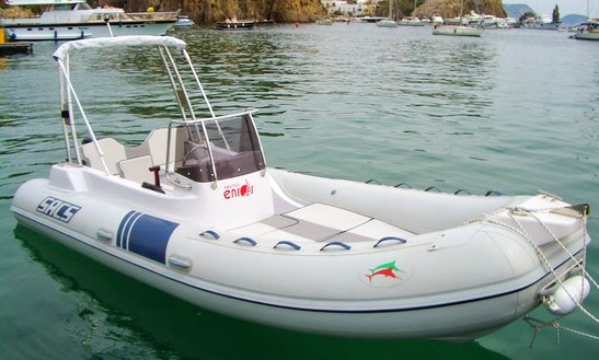 Rent 18' Sacs Rigid Inflatable Boat In Ponza, Italy
