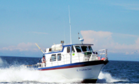 Fishing Charter On 36' Trawler In Soldotna, Alaska