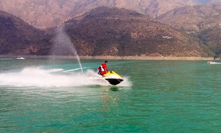 Enjoy Rishikesh, Uttarakhand on Jet Ski