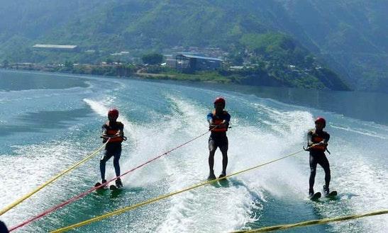 Enjoy Water Skiing In Rishikesh, Uttarakhand