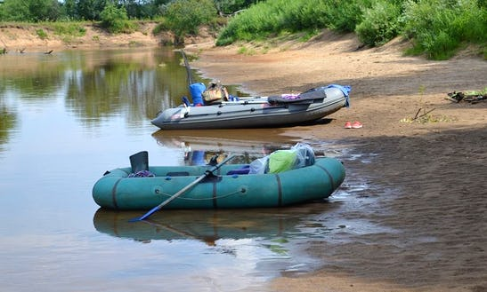 Rent A Raft In Liepa, Latvia