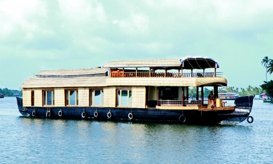 Charter A Houseboat In Nedumprakkad, Kerala
