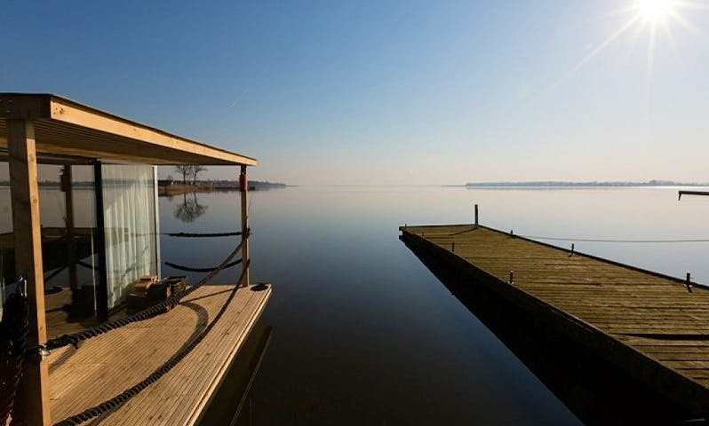 Live on 3 Bed Rooms Houseboat with Floating Terrace in Mielno, Poland