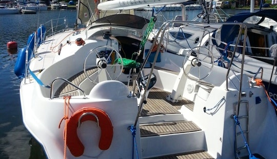 Hire The 36' Twister Sailing Yacht In Wilkasy, Poland
