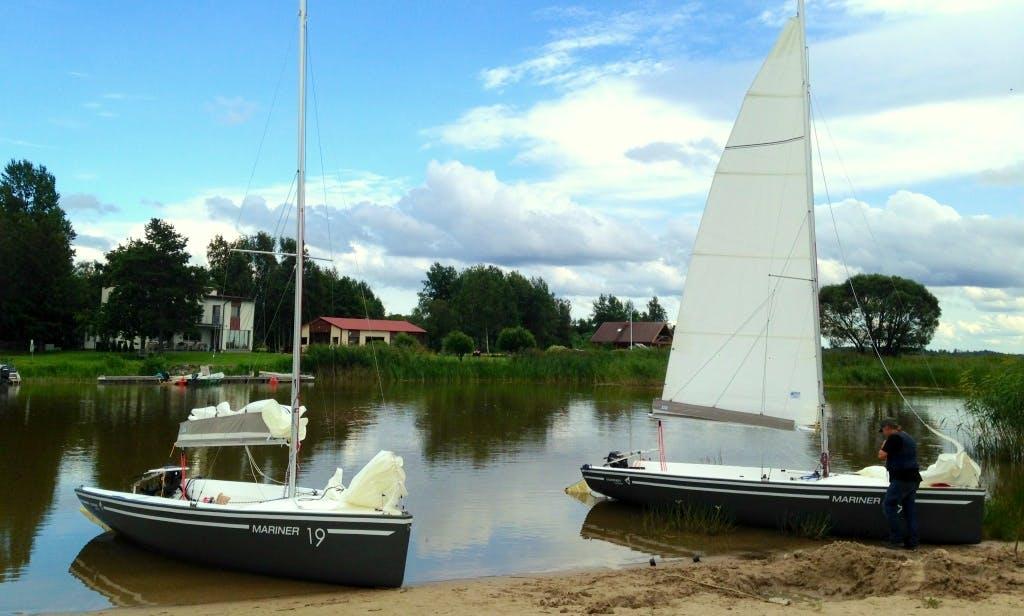 Hire the 19ft Mariner Sailboat in Oiu, Estonia