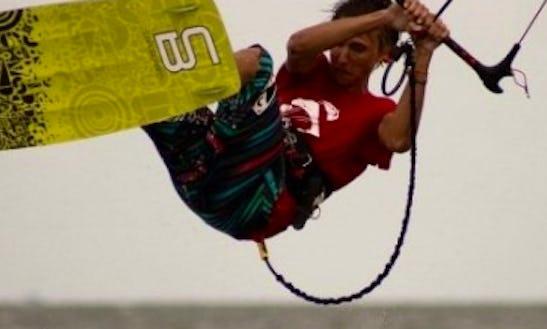 Kiteboarding Lesson In Caleta De Famara, Spain