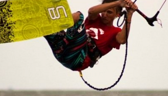 Kiteboarding Lesson In Caleta De Famara, Spain