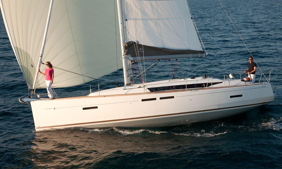 "Charter 42ft ""Penelope"" Sun Odyssey Sailing Yacht in Lefkada, Greece"