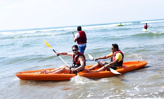 Enjoy Double Kayak Rentals In Baga, Goa