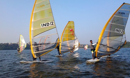 Enjoy Windsurfing In Baga, Goa