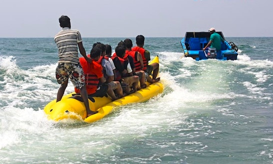 Enjoy Banana Rides In Baga, Goa