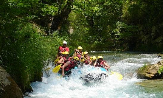 Rafting Trip In Lousios Gorge, Greece