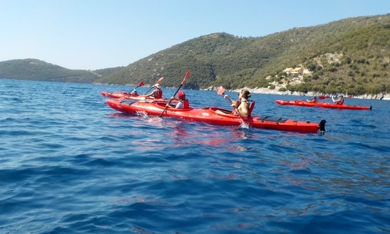 15ft Sea Kayak Boat Rental In Prince's Islands Of Ionian Sea, Greece
